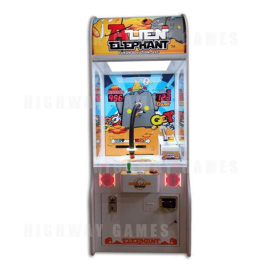 Alien Elephant Redemption Arcade Machine Released to Market! - Image 2