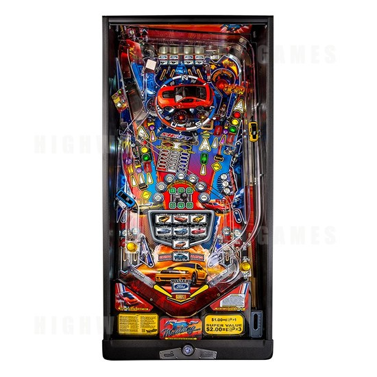 Stern Annouced Today Availability of the Mustang Pro, Premium and Limited Edition Pinballs. - Boss Premium Playfield