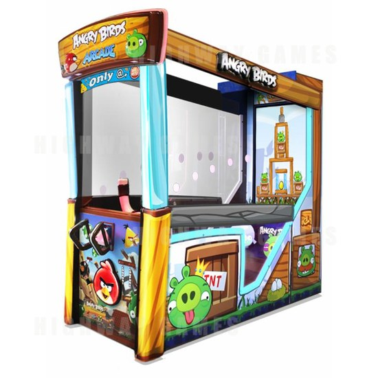 Dave & Buster's Released Angry Birds Arcade Machine Commercial - Angry Birds Arcade Machine - 1