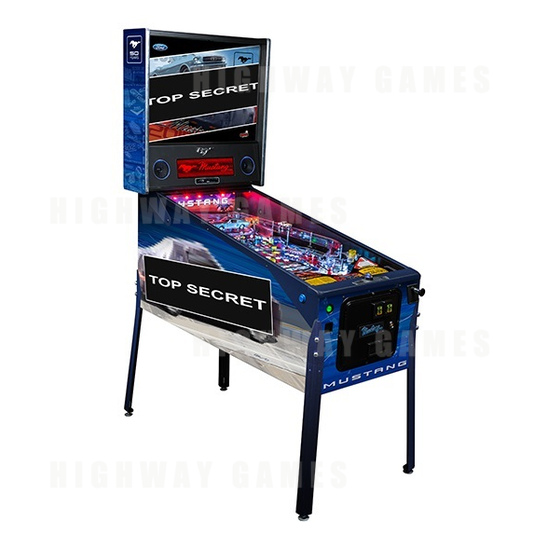 Stern Annouced Today Availability of the Mustang Pro, Premium and Limited Edition Pinballs. - Limited Edition Cabinet