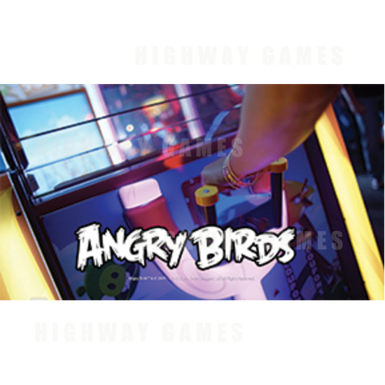 Dave & Buster's Released Angry Birds Arcade Machine Commercial - Angry Birds Arcade Machine - 2