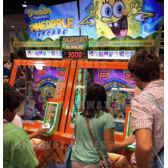 New Spongebob Pineapple, Dolphin Star & Pink Panther Arcade Machines Released - New Spongebob Pineapple, Dolphin Star & Pink Panther Arcade Machines Released - 1