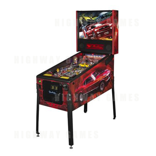 Stern Annouced Today Availability of the Mustang Pro, Premium and Limited Edition Pinballs. - Pro