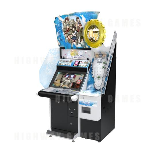 Sega & Capcom Reveal Exhibition Line Up For JAEPO 2016 - Kancolle Arcade Machine - JAEPO 2016