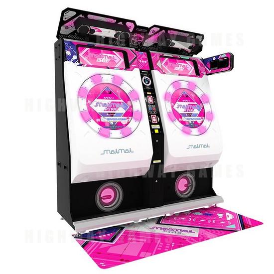 Sega & Capcom Reveal Exhibition Line Up For JAEPO 2016 - MaiMai Pink Arcade Machine - JAEPO 2016