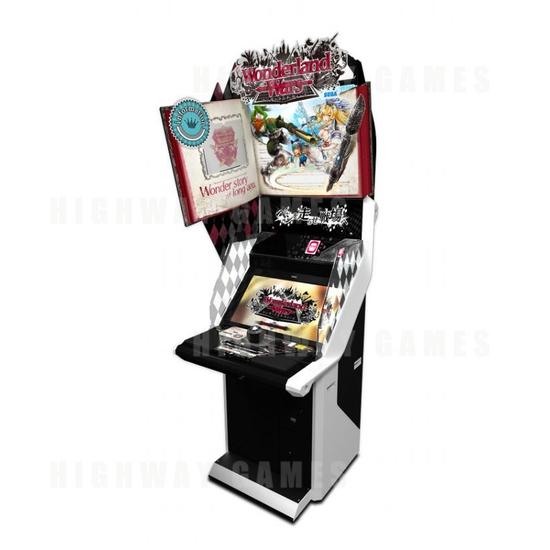 Sega & Capcom Reveal Exhibition Line Up For JAEPO 2016 - Wonderland Wars Arcade Machine - JAEPO 2016