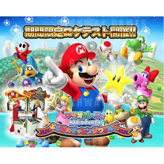 Sega & Capcom Reveal Exhibition Line Up For JAEPO 2016 - Mario Party Medal Arcade Machine - JAEPO 2016