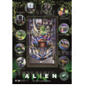 Heighway Pinball Unveiled Alien Pinball Machine - Alien Pinball Flyer by Heighway Pinball