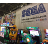 New arcade and pinball games debut at EAG 2017 - Sega's set up at EAG. Picture: Twitter/@7Ten