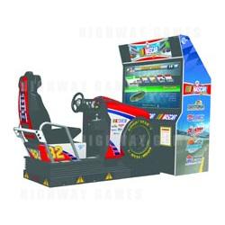 EA Sports NASCAR Racing - DX Motion Cabinet