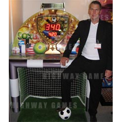 Solar Powered Soccermania Machine