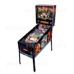 24 Pinball Machine - New from Stern