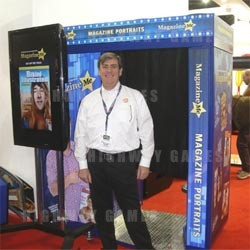Apple Industries Magazine Me photobooth a hit at London's EAG Expo