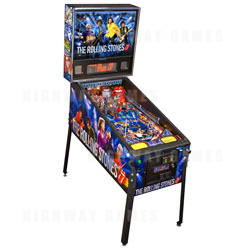 The Rolling Stones Pinball now available from Stern