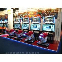 Namco Dead Heat Riders Arcade Machine