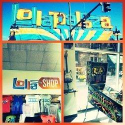 Lolla Shop featuring the Metallica Pinball