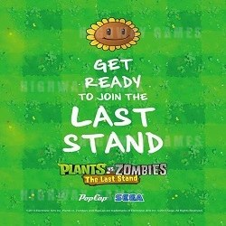 Sega's New Plants vs Zombies: The Last Stand Redemption Arcade Machine