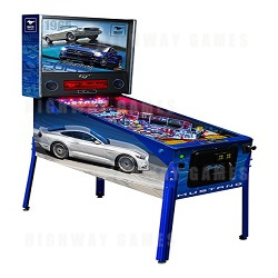 Limited Edition Mustang Pinball Machine