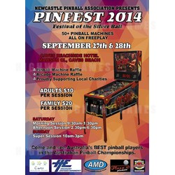 Pinfest 2014 starting tomorrow with The Walking Dead Pinball on exclusive display and Pinball Machines up for grabs!