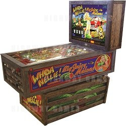 Whoa Nellie! Big Juicy Melons Pinball Machine from Stern and Whizbang