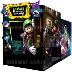 Luigi Mansion Arcade Machine by Capcom and Nintendo