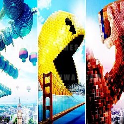 PIXELS New Promotional Featurettes Released Show Josh Gad, Peter Dinklage and More!