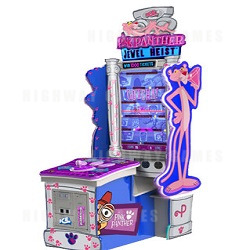 Pink Panther Jewel Heist Ticket Redemptin Machine Now Available to Order