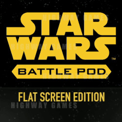 New Video Trailer for Star Wars Battle Pod Flat Screen Edition