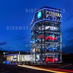 Carvana Built Five Storey Coin Operated Vending Machine!