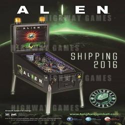 Heighway Pinball Unveiled Alien Pinball Machine