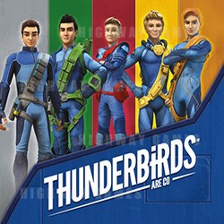 Sega's Thunderbirds Are Go! plush collection will be available in Spring 2017.