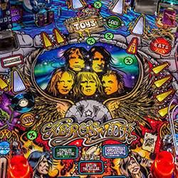 Aerosmith gets the Stern Pinball treatment