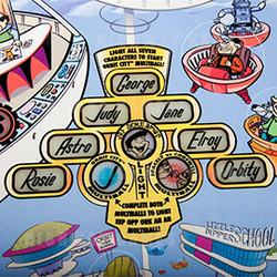 Spooky Pinball LLC and The Pinball Company have created The Jetsons Pinball Machine