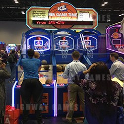 NBA Game Time by ICE, shown at 2016 IAAPA, is now shipping. Photo: Michael Tobin / Flickr