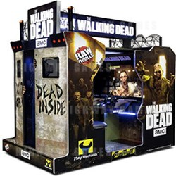The Walking Dead Arcade by Raw Thrills won gold in the 2017 BOSA awards