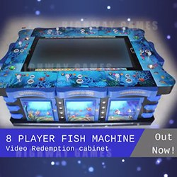 The new fish machine, as shown in Arcooda's Checkpoint video