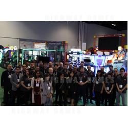 Bandai-Namco Team at IAAPA