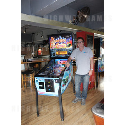 Thunderbirds Pinball Machine with Homepin's Mike Kalinowski