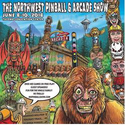 Northwest Pinball and Arcade Show banner