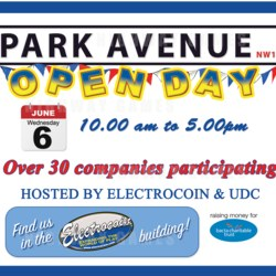 Park Avenue Open Day banner