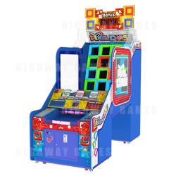 SEGA's new Pixel Chase machine being showcased at IAAPA 2018
