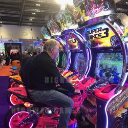 Super Bikes 3 was extremely popular among visitors