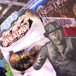 Sega's new House of the Dead Scarlet Dawn was incredibly busy throughout the show