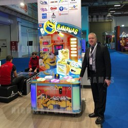 Despicable Me themed Go Bananas was a hit amongst visitors.