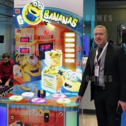 Big licences like Minions The Go Bananas whacker are extremely popular in the Middle East