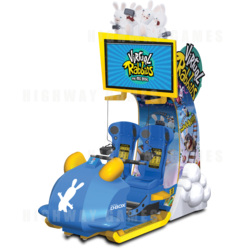 Virtual Rabbids The Big Ride Arcade Machine