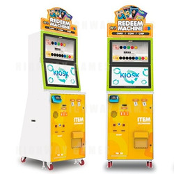 Andamiro Ships Its New Redeem Machine; A Self-Service Kiosk that Processes Collectible Cards and Other Redemption Items