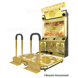 DDR A20 Gold Cabinets are sure to excite fans of the series.
