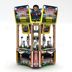 Red Zone Rush Arcade Cabinet