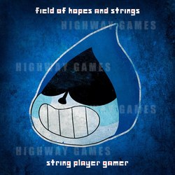 DELTARUNE's a Field of Hopes and Strings Album Artwork